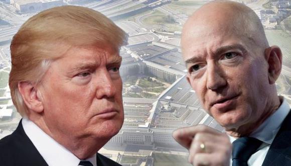 Trump ha dejado en claro en repetidas ocasiones su aversión por el dueño de Amazon, Jeff Bezos.