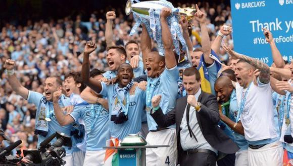 Manchester City podría sufrir también un castigo en la Premier League. (Foto: AFP)