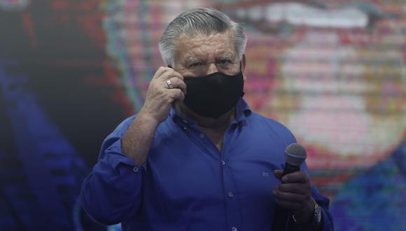 """El también exgobernador regional de La Libertad consideró que por la """"difícil coyuntura"""" cualquiera de los """"seis primeros candidatos"""" podrían pasar a la segunda vuelta el próximo 11 de abril. (Foto: GEC)"""