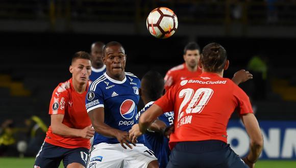 Millonarios recibe a Independiente de Avellaneda este jueves (7:30 p.m. EN VIVO ONLINE por FOX Sports), en un duelo clave por la clasificación. (Foto: EFE)