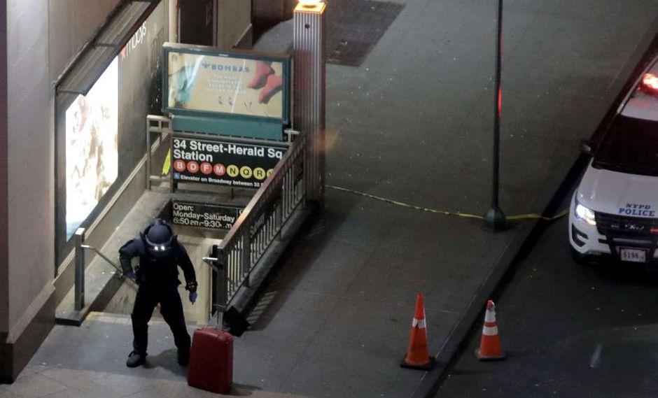 Nueva York | Equipaje abandonado provoca cierre de calles de Estados Unidos. (AFP)