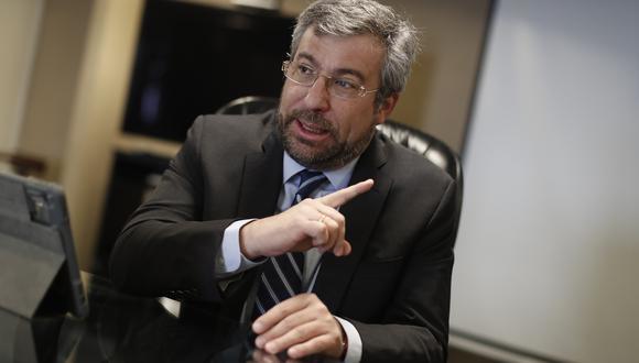 Piero Corvetto, jefe de la ONPE, fue víctima de una agresión en Chorrillos. (Foto: Archivo El Comercio)