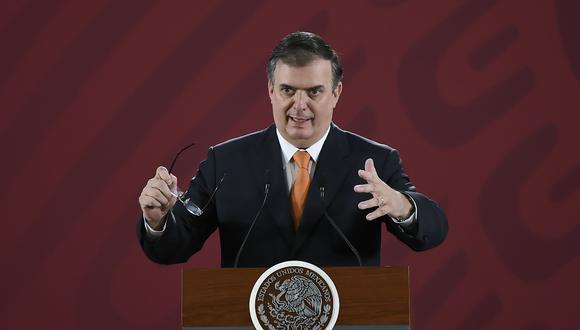 El canciller mexicano Marcelo Ebrard señaló que no tienen reportes de afectados por redadas en Estados Unidos. (Foto: AFP)