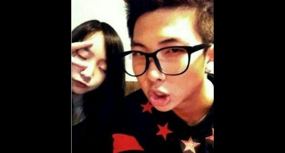 RM y su hermana menor. (Foto: Difusión)