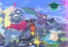 Pokémon Espada y Escudo: ¿Qué Pokémon  estarán disponibles en Las Nieves de la Corona? [FOTOS]