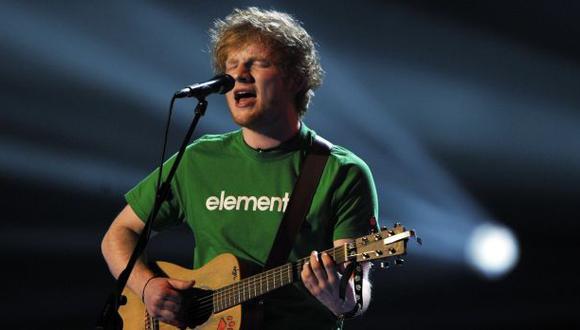 Ed Sheeran: se agotaron entradas para su presentación en Lima