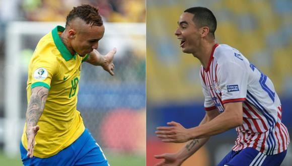 Paraguay y Brasil abren hoy la fase de cuartos de final de la Copa América 2019 y acá te presentamos todo lo que debes saber sobre los pronósticos y apuestas en vivo y en directo. (Foto: AFP)