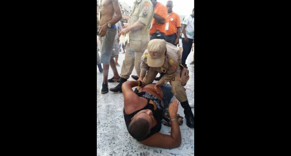 """Carnaval de Río: Disparan a hombre en """"Desfile de Campeones"""""""