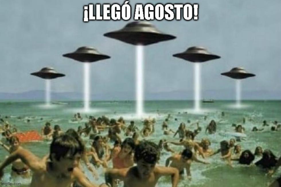 Adiós julio, agosto sorpréndeme: los memes de un mes más en cuarentena. (Facebook)