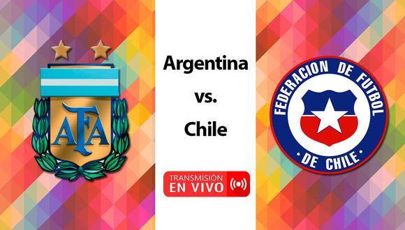 El partido entre Argentina y Chile tendrá lugar en el Red Bull Arena de Nueva Jersey a partir de las 22:00 horas (horario argentino) y será transmitido a través de TyC Sports, TV Pública, MEGA y CDF. | Foto: Producción