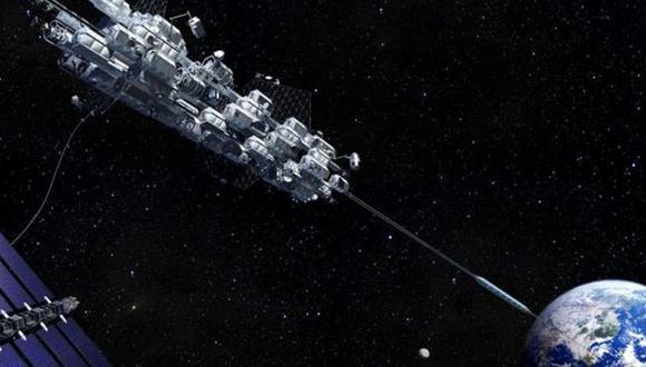 Japón quiere ser el primer país del mundo en crear un elevador espacial. (Foto: Obayashi Corp)