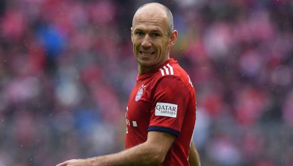Arjen Robben, extremo holandés que milita en el Bayern Múnich. (Foto: AP)
