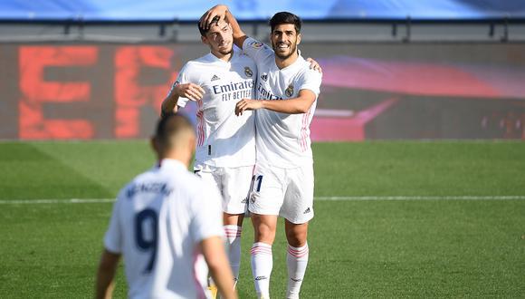 Federico Valverde regresó a la convocatoria del Real Madrid   Foto: AFP