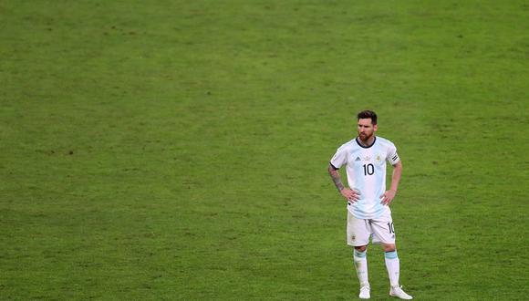 """Copa América: """"Messi, el delantero astronauta"""", por Aldo Cadillo. (Foto: AFP)"""