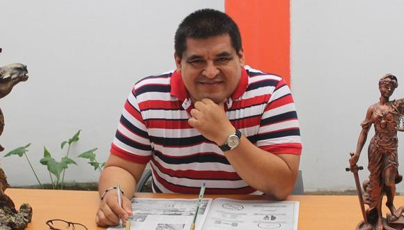 Milton Guzmán, candidato al Parlamento Andino por el Partido Nacionalista, registra una deuda ante la Sunat que asciende a un total de S/807.597. (Imagen: Facebook de la Notaría Guzmán).