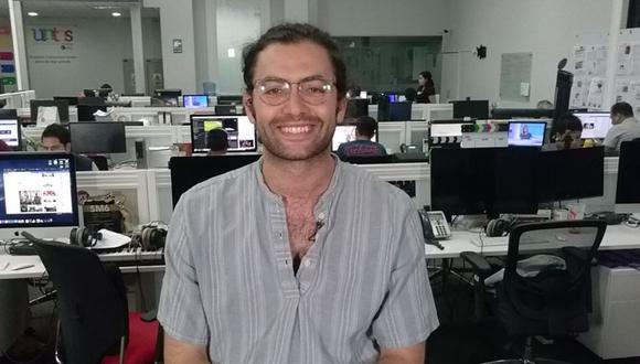 """Fernando Luque, actor que encarna a Alex en """"De vuelta al barrio"""". (Foto: El Comercio)"""