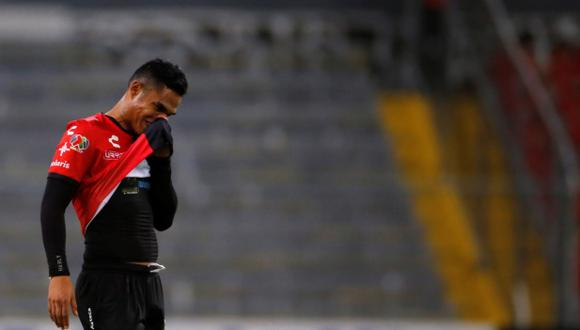 Anderson Santamaría pidió perdón a los hinchas de Atlas tras la eliminación en la Liga MX. (Foto: EFE)