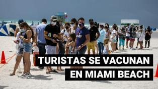 Miami Beach: el lugar preferido por los turistas latinoamericanos para adquirir la vacuna contra la COVID-19