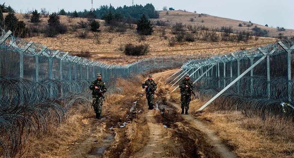 1. Macedonia - Grecia. (AFP)