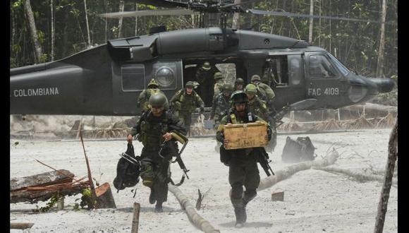 Colombia toma 63 minas ilegales explotadas por las FARC