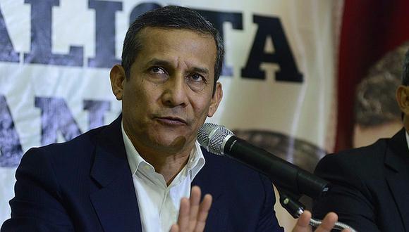 Ollanta Humala aseguró que la declaración de su exsecretaria solo corrobora la relación amical con José Paredes. (Foto: GEC)
