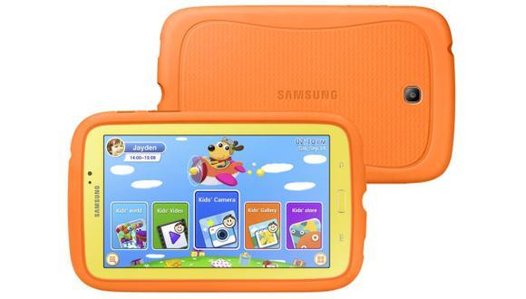 Galaxy Tab 3 Kids: más que una tableta para niños
