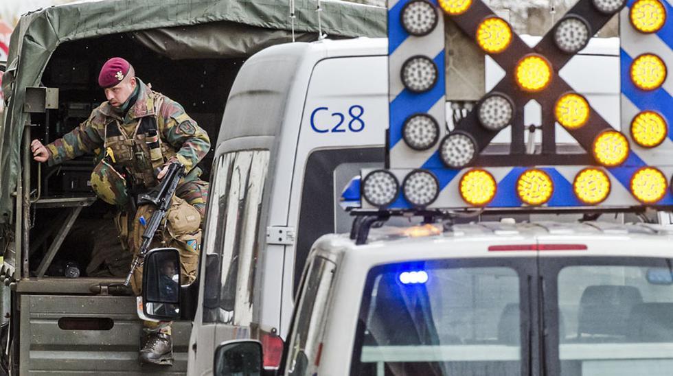 Bruselas sigue blindada por policías a una semana del 22-M - 9