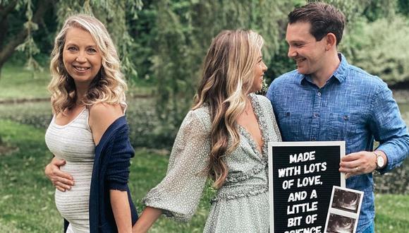 Julie Loving, la mujer de 51 años que dará a luz a su nieto para que su hija Breanna Lockwood forme una familia | Estados Unidos | Illinois. Foto: Instagram vf.surrogacy.diary