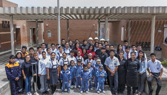 Impulsar la promoción integral de la persona mediante la educación, formación y asistencia social: ese es el objetivo de la Fundación Pachacútec, en Ventanilla. (Foto: Fundación Pachacútec)