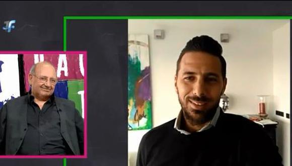 El ex seleccionador nacional Sergio Markarián, en una entrevista brindada en Paraguay, no dudó en resaltar las virtudes de Claudio Pizarro y lamentó que no haya clasificado al Mundial. (Foto: captura)