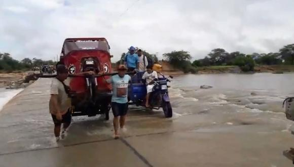 El Senamhi informó que las precipitaciones en el norte del país continuarán hasta el martes. (Imagen: Correo)