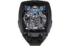 Este es el reloj inspirado en el Bugatti Chiron que cuesta US$ 280 mil   FOTOS