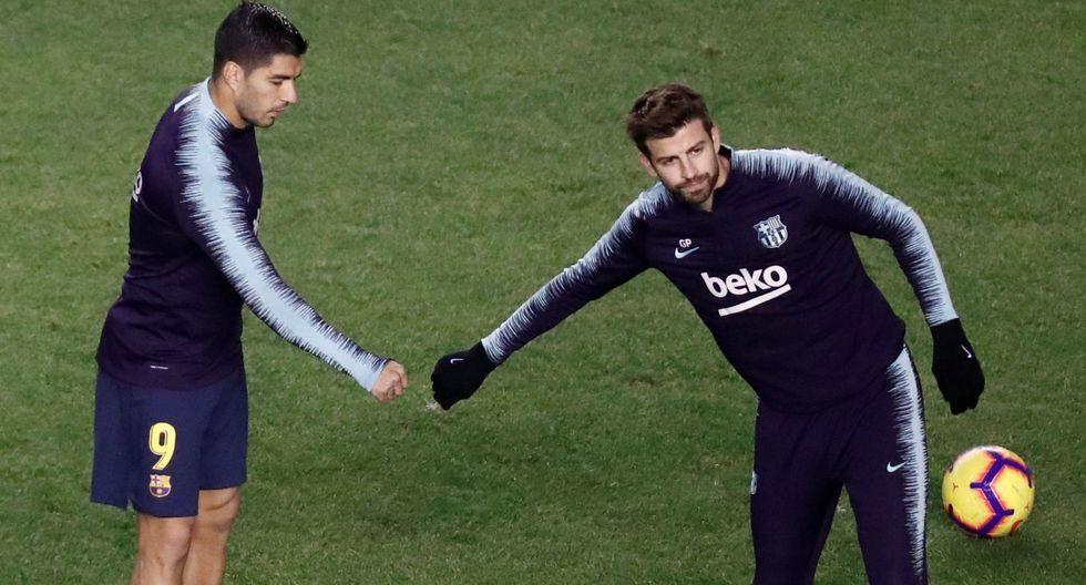 Barcelona: Suárez discutió con Piqué luego de perder ante el Sevilla en el Camp Nou. (Foto: AFP)