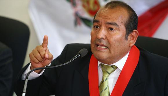 """El juez René Martínez Castro reiteró que su colegiado actuó """"dentro del marco legal y lo que establece la Constitución"""". (Foto: Andina)"""