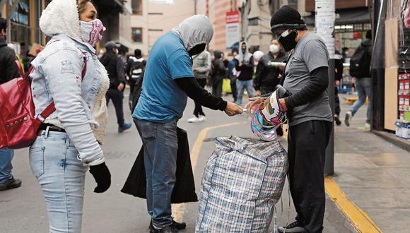 En junio, más del 50% de los empleos que se generaron fueron informales (Foto: GEC | Leandro Britto))
