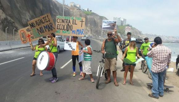 Costa Verde: municipio de Lima evalúa malecón en La Pampilla