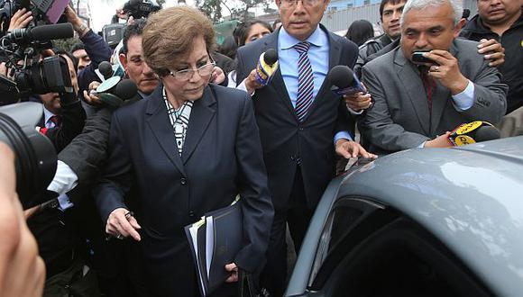 Gladys Echaíz renunció en el 2014 a la fiscalía de la Nación (Foto: Grupo El Comercio)