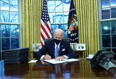 EN VIVO | Biden devuelve a EE.UU. al Acuerdo de París y evita su salida de la OMS