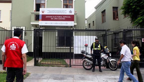 JEE Lima Centro 2 aprobó inscripción de la lista al Congreso por Lima de Alianza para el Progreso | Foto: GEC