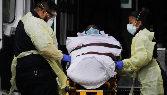Coronavirus en Estados Unidos | Ultimas noticias | Último minuto: reporte de infectados y muertos viernes 3 de abril del 2020 | Covid-19 | Estados Unidos suopera los 8.000 muertos por coronavirus. (Spencer Platt/Getty Images/AFP).