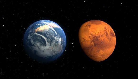 Tres misiones estudiarán Marte y la probable existencia de vida en este planeta. (Foto: NASA Goddard Space Flight Center)