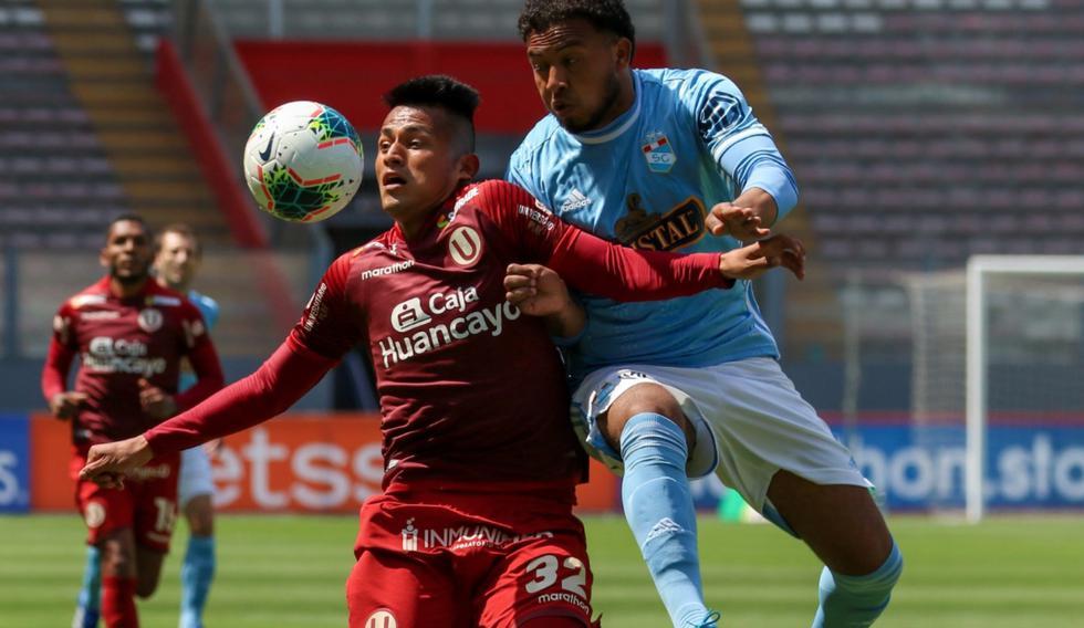 Sporting Cristal enfrentó a Universitario por la Liga 1