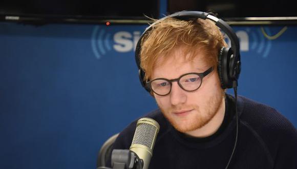 Ed Sheeran está en México. (Foto: AFP)