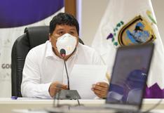 Ica: gobernador regional revela que se contagió de COVID-19