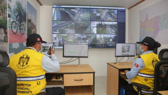 Inauguran Central de Gestión y Operaciones de Tránsito. (Foto: Municipalidad de San Isidro)