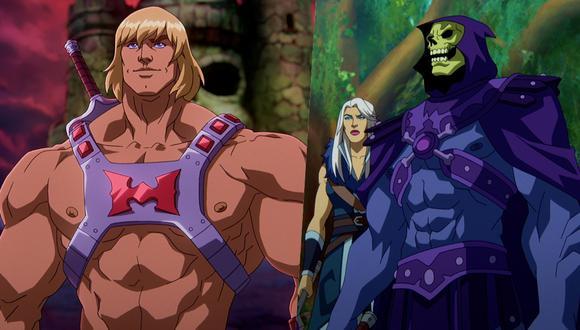 "He-Man y Skeletor regresan con la serie ""Masters of the Universe: Revelation"". (Foto: Netflix)"