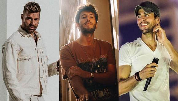 Ricky Martin, Enrique Iglesias y Sebastián Yatra confirmaron las fechas de su gira por Estados Unidos. (Foto: Composición/Instagram)