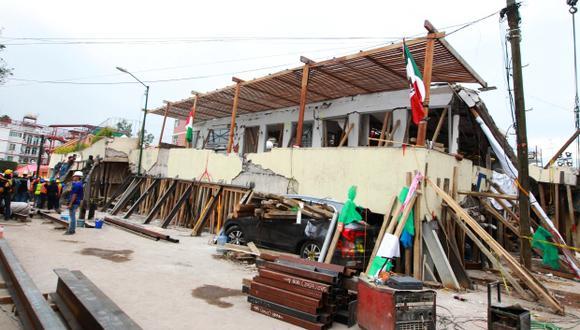 El terremoto en México dejó 363 muertos. (Foto: EFE)