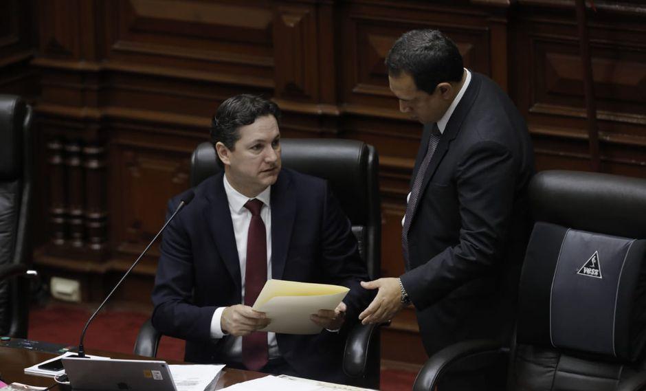El presidente del Congreso, Daniel Salaverry, ha acusado a Fuerza Popular de tener el interés de removerlo del cargo de presidente del Legislativo. (Foto: GEC)