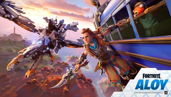 Aloy, de Horizon Zero Dawn, llega a Fortnite. (Imagen: PlayStation)